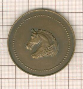Vendee Medal Bronze By R Cochet Rally Of Sables 1931