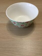 Cath Kidston Provence Rose Green Dish/ Bowl Brand New.💐New Shape 💐