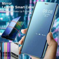 Para Xiaomi Mi A1 A2 A3 Lite 9T Pro 9 Funda Con Tapa Inteligente Espejo Carcasa