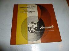 "DIXIELAND JAZZ BATTLE - Pete Daily V Phil Napoleon - UK 8-track 10"" Vinyl LP"