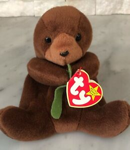 Ty Beanie Baby Babies Seaweed The Otter With Tags