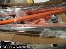 Rzk8rng Commercial Grade Heavy Duty Rolling Orange Garment Rack
