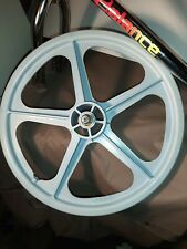 """Skyway 20"""" TUFF WHEELS II old school bmx Mags grey Made in USA Retro Front Only"""