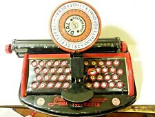 Marx Toys Junior Dial Typewriter Tin Litho 1940s