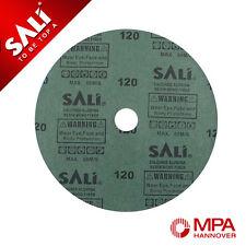 25 X FIBRE DISCS 115MM 80 GRIT PROFESSIONAL SANDING DISCS