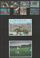 Dominica 1995 Atlanta Olympics Set and Pair of Sheets UM