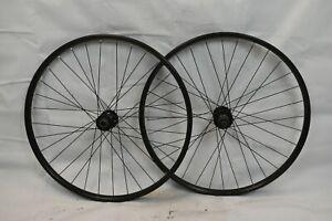 """Shimano 26"""" MTB Wheel Set Freehub Black OLW100/135 25mm 32S PV Disc USA Charity!"""