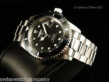 Invicta Men Submariner Pro Diver Automatic Exhibition 24J NH35 BLK Dial SS Watch