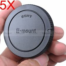 5x Camera Body Cover Cap for Sony E-mount NEX-3 NEX-C3 NEX-F3 NEX-3N; QX1