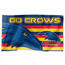 Adelaide Crows AFL Game Day Flag 60cm x 90cm Pole NOT INCLUDED