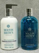 Molton Brown Blissful Templetree Body wash, White Sandalwood Body Lotion Duo Set