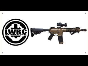 vn1920 LWRC Dealer Arm Gun Shop for Advertising Display Banner Sign