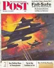 The Saturday Evening Post October 13 1962 Fail-Safe Burdick Wheeler McCall Cover