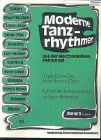 Moderne Tanzrhythmen Band 3