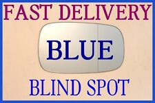 RENAULT CLIO MK3 2005-2009 DOOR WING MIRROR GLASS BLUE TINTED BLIND SPOT