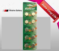 30 piece AG13 G13 LR44 LR1154 A76 Card 1.5V Alkaline Battery watch remote!