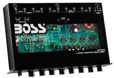 NEW BOSS EQ1208 4-Band Preamp Car Audio Equalizer w/ Subwoofer Sub Output EQ Out