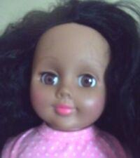 "18 ""  LATINA  BLACK or CREOLE dominican MADAME ALEXANDER DOLL valentine"