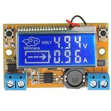 DC-DC step-down power supply adjustable push-button module with   LCD display