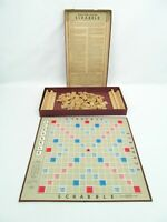 Scrabble Game by Selchow & Righter Co. Vintage - Board Dated 1948