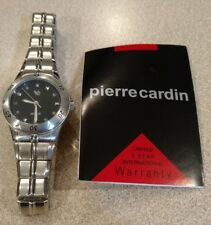 "Nice! ""Pierre Cardin"" Stainless Steel Women's  Watch VPC4347WB. Japan Movement"