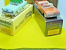 Brooklin Collection Chevrolet Brk 61 / Brk 68 1/43 Scale Model Job Lot Of 2