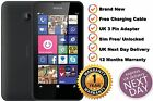 Brand New Nokia LUMIA 635 8GB Sim Free Unlocked WIFI 4G LTE Black Windows 8