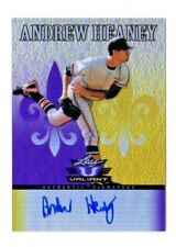 ANDREW HEANEY  MLB 2012 LEAF VALIANT DRAFT PURPLE AUTO #/25 (LOS ANGELES ANGELS)