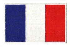 Ecusson patche France badge drapeau français république thermocollant