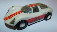 CIRCUIT TROBY 60's SLOT CAR 1/32e . PORSCHE GT 906 LE MANS . LEXAM . FONCTIONNE