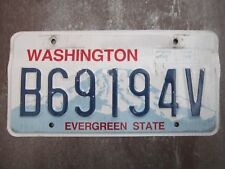 Washington (B69194V) American License Number Plate Collecting Craft Hobby