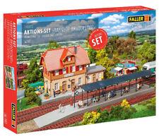FALLER 190072 H0 Aktions-Set Bahnhof Bruderstadt ++ NEU & OVP ++