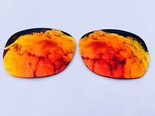Polarized Rosso Fuoco Sostituzione a specchio lenti OAKLEY GARAGE ROCK