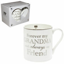 Lesser and Pavey Fine China Mug Beaker Coffee Tea Cup Forever My Grandma Lp34006