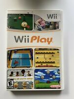 Wii Play (Nintendo Wii) -W/ Manual & Tested- FAST SHIPPING