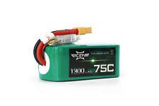 Acehe 6s 22,2V 1300mAh 75C XT60 6S1P High-End FPV Race LiPo Akku Batterie