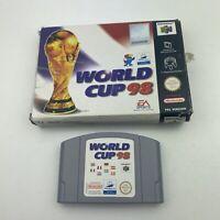 World Cup 98 (PAL) N64 Nintendo 64 Boxed