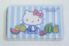 Brand New Sealed Collectible HELLO KITTY Eva Air PLAYING CARDS Sanrio blue