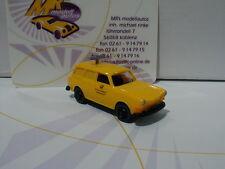 """Wiking 0042 02 # VW 1600 Variant Baujahr 1967 """" Funkmesswagen """" in gelb 1:87"""