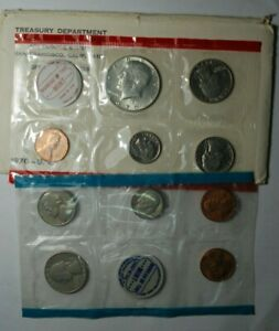 US Mint 1970 Uncirculated Coin Set WITH 40% SILVER KENNEDY HALF