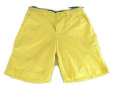 COLUMBIA Sportswear Casual Shorts Mens 34 Yellow New 100% Cotton