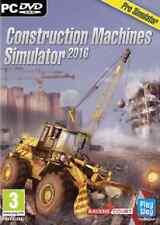 Construction Machine Pro Simulator 2016 (PC DVD) NEW