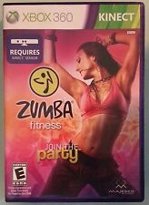 xbox 360  ZUMBA FITNESS  includes case with artwork disc and manual