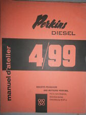 PERKINS motor 4-99 4.99 : manual de taller 1960