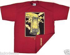 STREETWISE 8 BALL T-shirt West Coast/'n 40oz Tee Adult Men Burgundy NWT