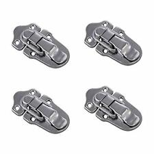 Durable Iron Luggage Suitcase Hasp Latch Buckle Lock (4 Pcs)