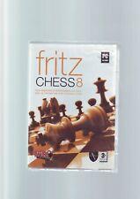 Fritz Schach 8-PC Game-Schnelle Post-NEU & VERSIEGELT