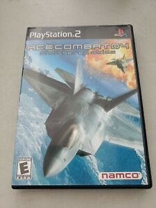 Ace Combat 04: Shattered Skies (Sony PS2, 2001) COMPLETE CiB