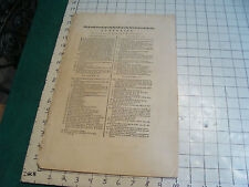 "Original engraving 1760's 10 1/2 x 16""  LUNETTIER info + 4 sheets of tools LENSE"