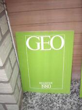 Geo, Register 1980